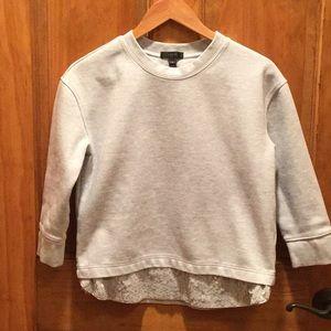 Cute gray sweatshirt with fun sequins